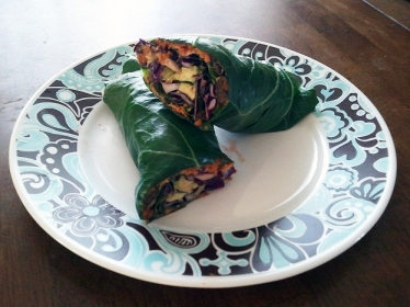 My collard wraps