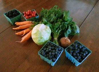 Farmer's Market Extras: CSA #15, 2012